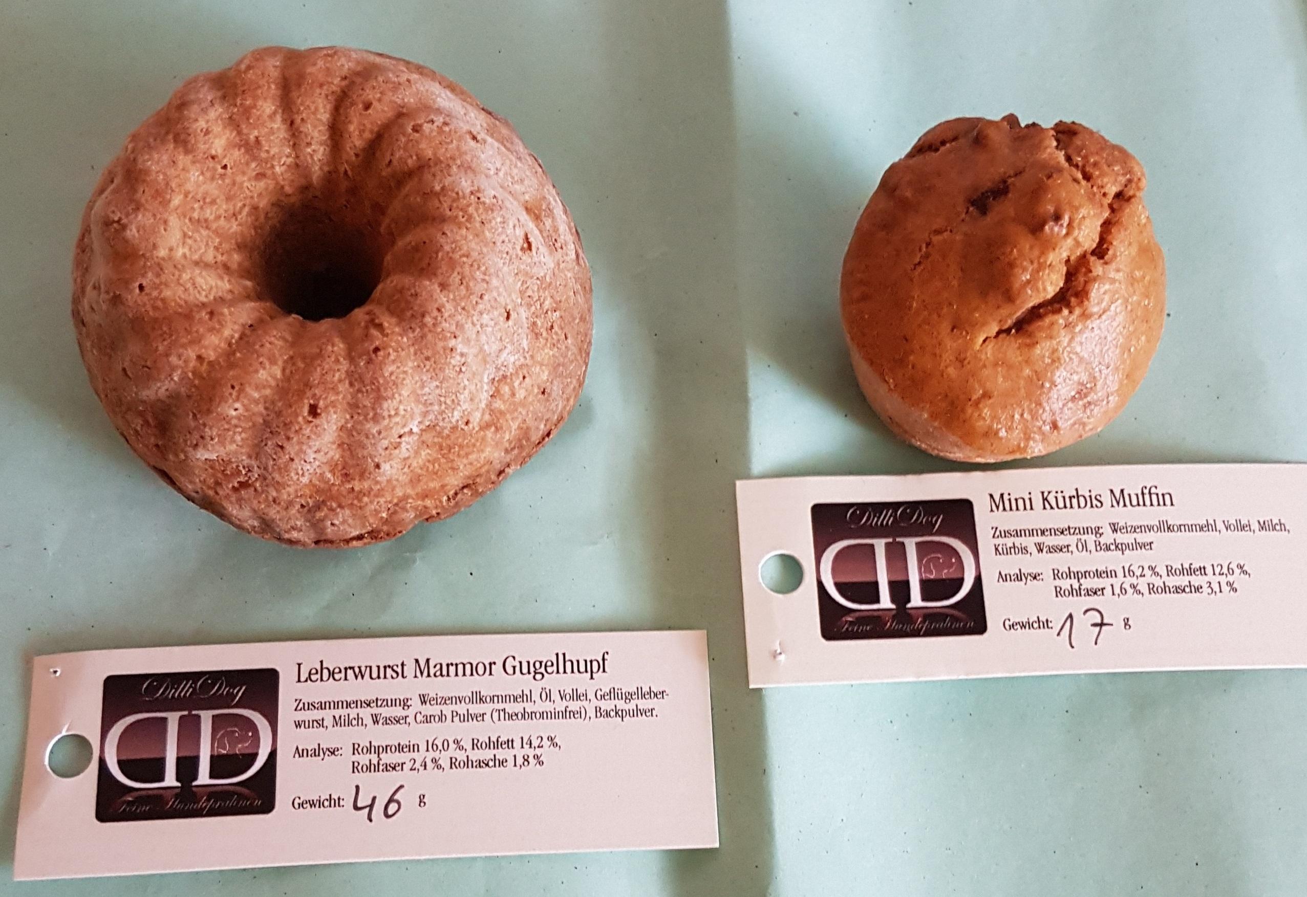dilli-dog-leberwurst-mamor-gugelhupf-mini-kuerbis-muffin
