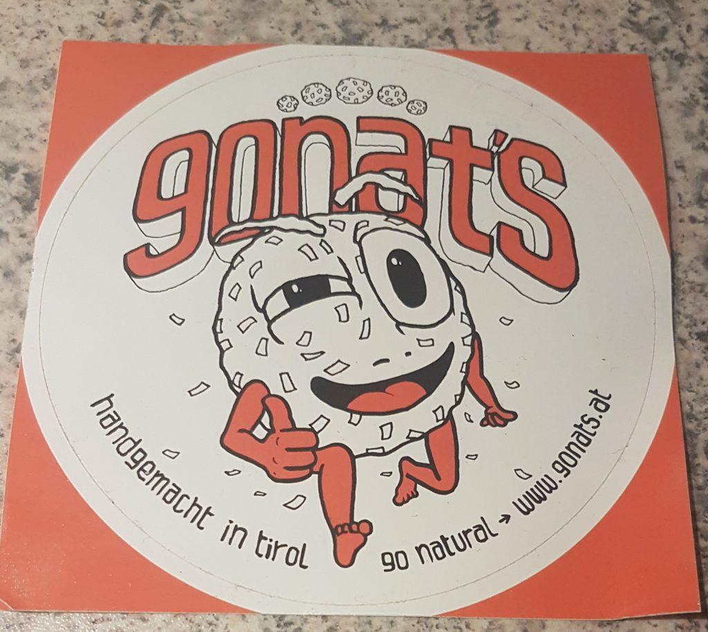 gonats-aufkleber